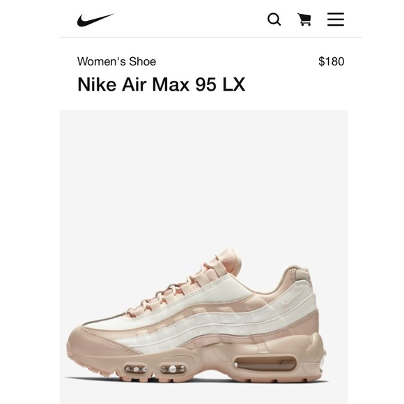 Nike Multicolor Air Max 95 Lx Guava Ice for men